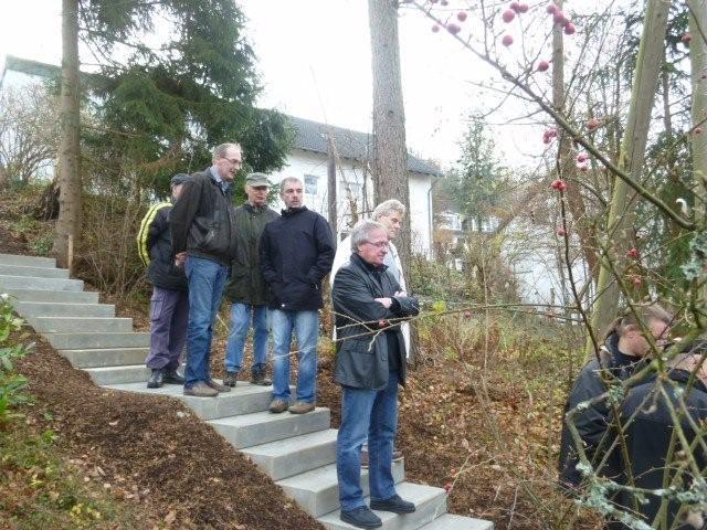 Einweihung Treppe Bühnhardt